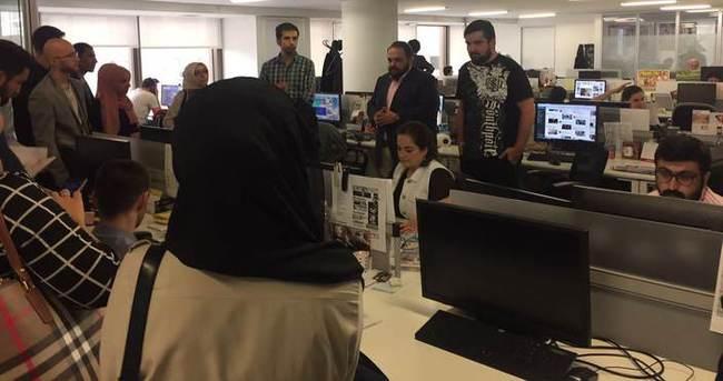 İstanbul Medya Akademisi'nden Sabah.com.tr'ye ziyaret