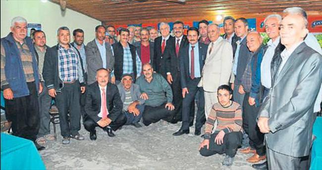 Başkan Soner Çetin ilçe gezisine çıktı