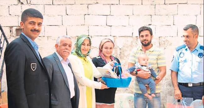 Reyhanlı Belediyesi'nden Hoş Geldin Bebek projesi