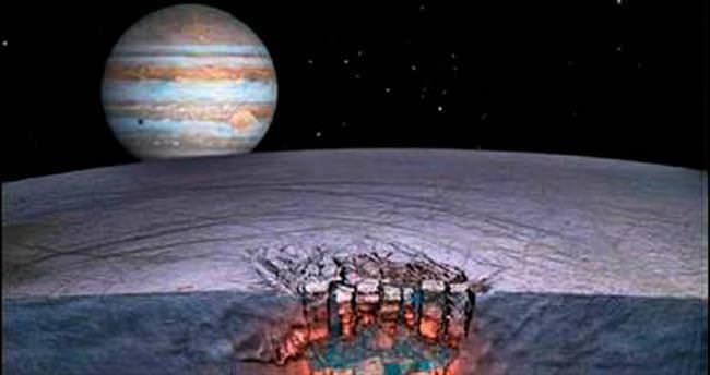 Jüpiter'in uydusunda yaşam ihtimali çok