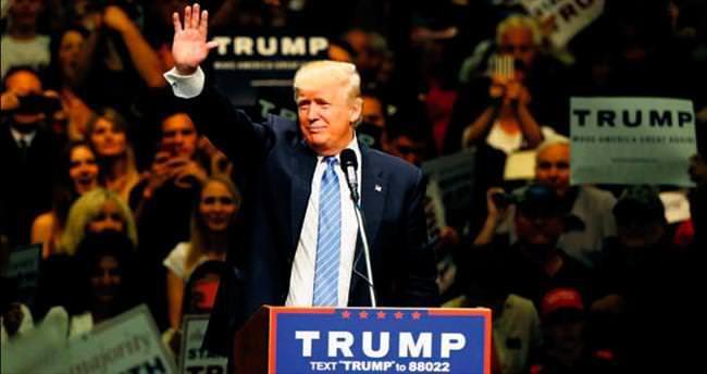 Trump yeterli delegeye ulaştı