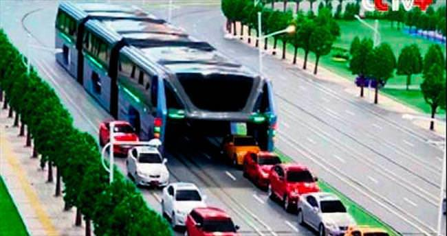 Bin 200 kişilik otobüs 2017'de