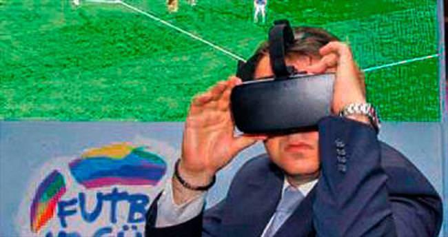 Sanal gerçeklik teknolojisi ile 360 derece 'final'