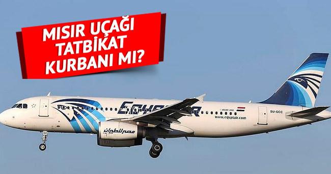 Mısır uçağı tatbikat kurbanı mı?