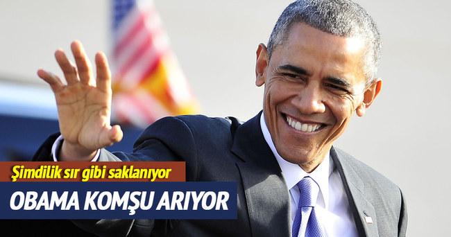 Obama 'komşu' geliyor