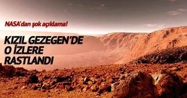 Mars'ta buzul çağı izlerine rastlandı