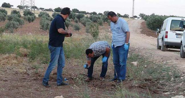 Suriye'den, Gaziantep Havalimanı Lojmanları'nın bahçesine roket