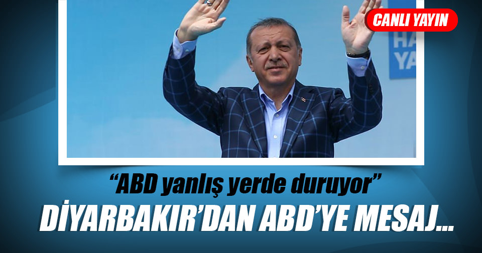 Cumhurbaşkanı Erdoğan, ABD yanlış yerde duruyor, kınıyorum…