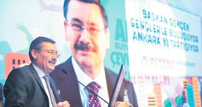'Bozkır Ankara yemyeşil oldu'