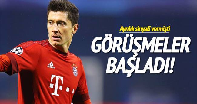 Real Madrid'den Lewa bombası...
