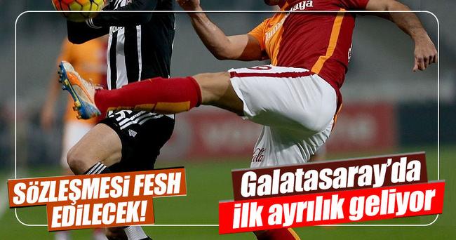 Galatasaray'da ayrılık zamanı...