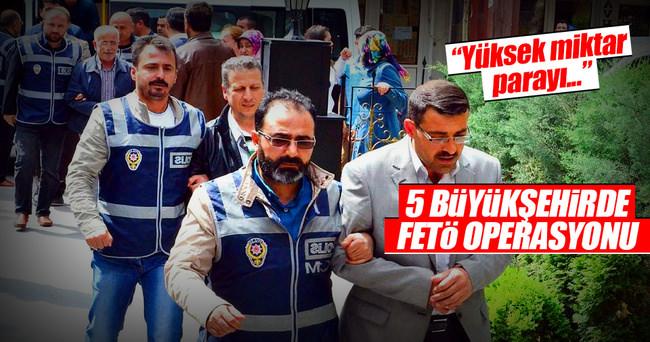 Balıkesir merkezli 5 ilde FETÖ operasyonu: 19 gözaltı