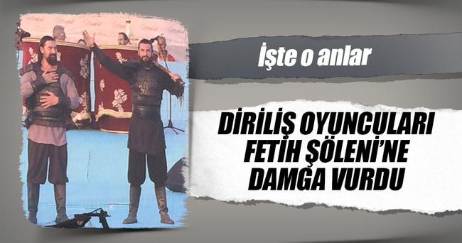 Diriliş oyuncuları İstanbul'un Fethi 563. yıldönümünde şiir okudu