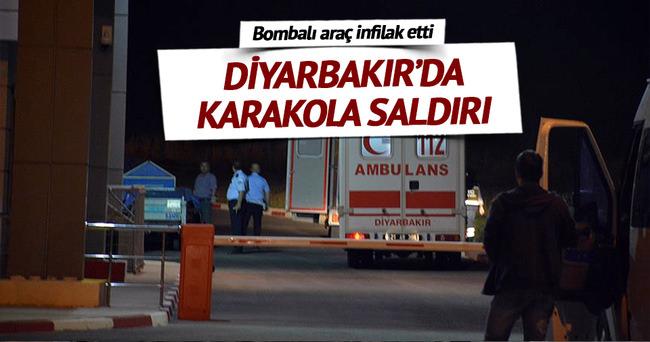 Diyarbakır Kulp'ta karakola bombalı saldırı