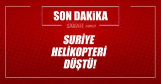 Kamışlı'da rejimin helikopteri düştü