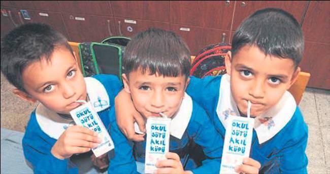 Süt içen çocuk daha başarılı
