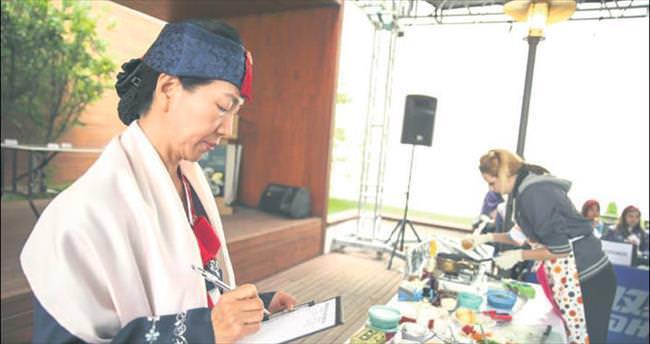 Kore yemekleri başkentte yarıştı
