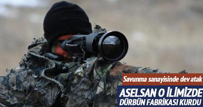 Aselsan Sivas'ta yerli silahlara dürbün üretecek