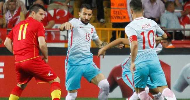 Türkiye - Karadağ maçı özeti