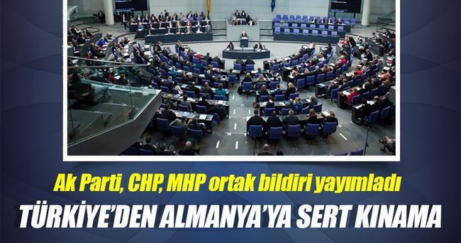 Almanya'daki Ermeni iddialarıyla ilgili Türkiye'den ortak bildiri