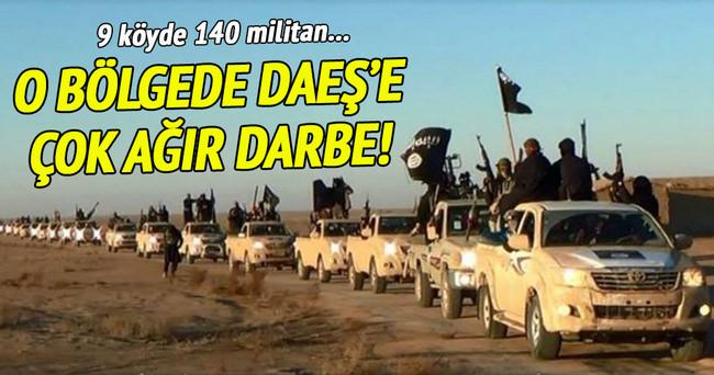 Irak'ta DAEŞ'e çok ağır darbe!