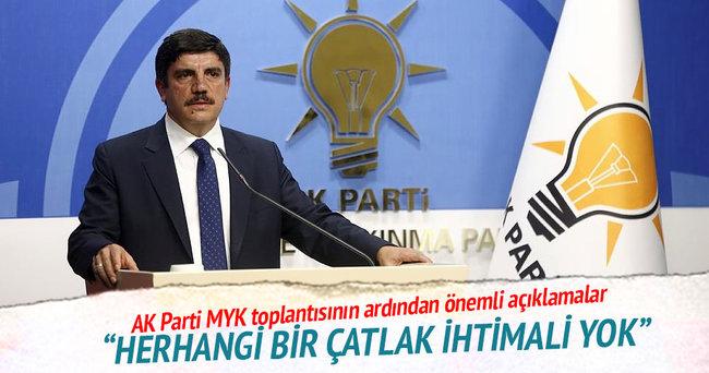 Aktay: AK Parti içerisinde herhangi bir çatlak ihtimali yok