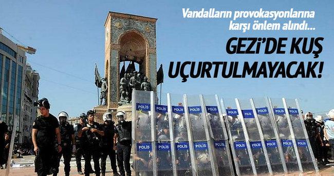 Gezi olaylarının yıl dönümünde yoğun güvenlik önlemleri alındı!