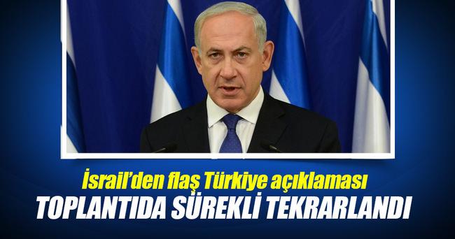 Netanyahu: Türkiye ile uzlaşma çok yakın