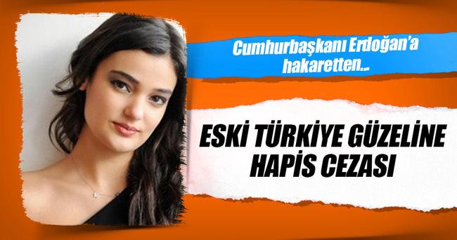 Eski Türkiye güzeli Büyüksaraç,Cumhurbaşkanı Erdoğan'a hakaretten mahkum oldu