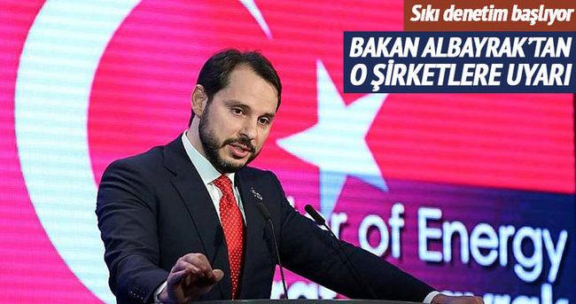 Enerji Bakanı Berat Albayrak'tan BEDAŞ ve AYEDAŞ'a uyarı