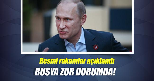 Rus ekonomisi yüzde 1,1 küçüldü