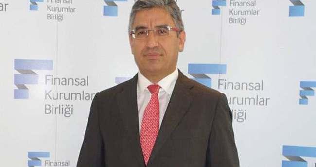 Finansal Kurumlar Birliği'nin Yeni Başkanı  Mehmet Cantekin Oldu
