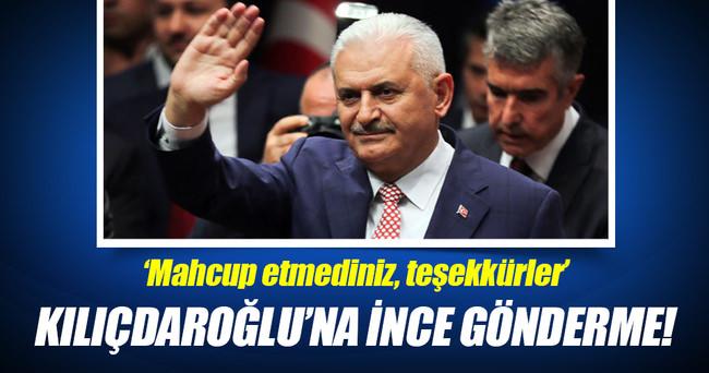 Kılıçdaroğlu'na 'başbakanlık' göndermesi!