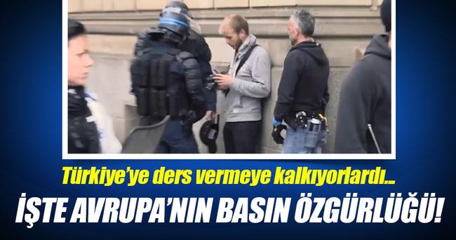 Fransız polisi tek tek sildirdi
