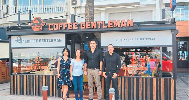 COFFEE GENTLEMAN ALSANCAK'TA AÇILDI