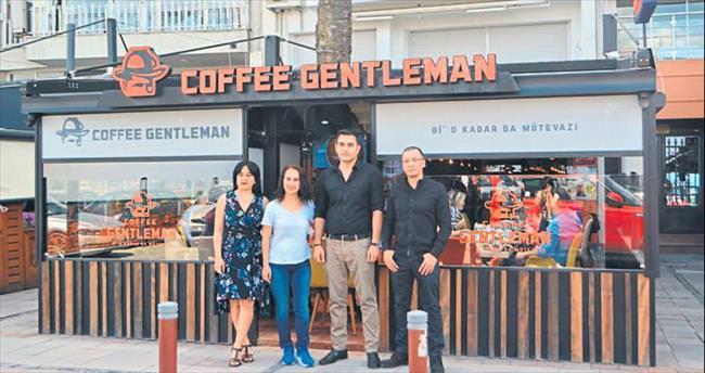 Coffee Gentleman Alsancak'ta açıldı