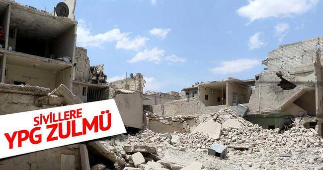 Halepli sivillere YPG zulmü