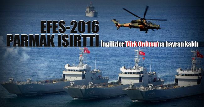 İngilizler Türk ordusuna hayran kaldı