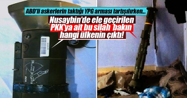 Nusaybin'de Amerikan yapımı antitank roketi ele geçirildi