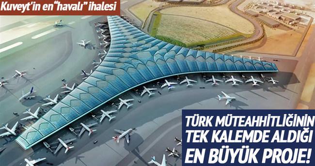 Türk müteahhitliğinin tek kalemde aldığı en büyük proje!