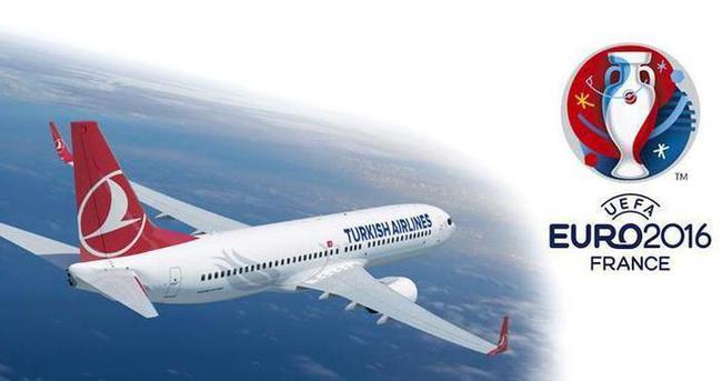 EURO 2016 THY uçaklarında izlenebilecek
