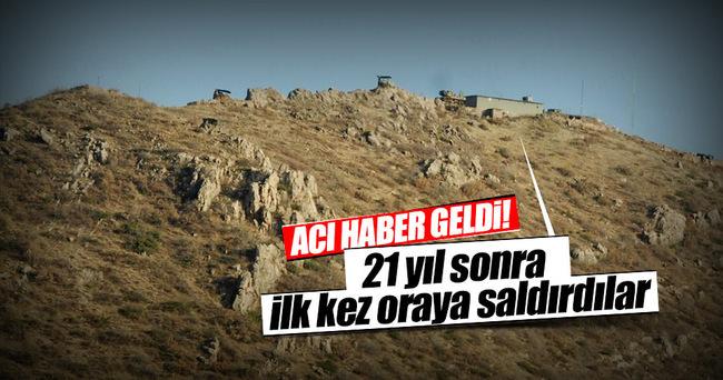 Irak'taki Türk askeri üssünde ilk şehit!