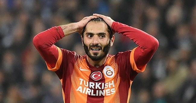Galatasaray'da Hamit Altıntop dönemi sona erdi