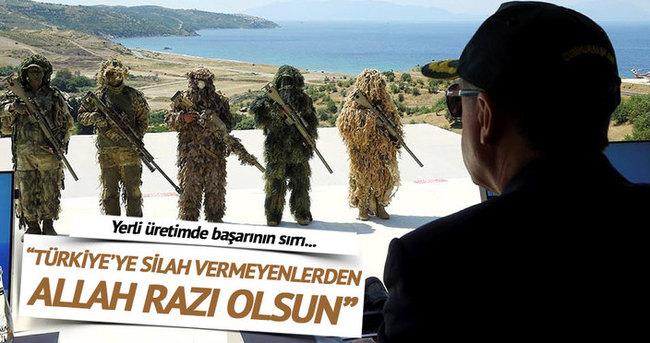 Bulut: Bize silah vermeyenlerden Allah razı olsun