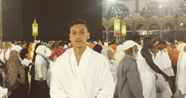 Mesut Özil'e 'Umre' saldırısı!