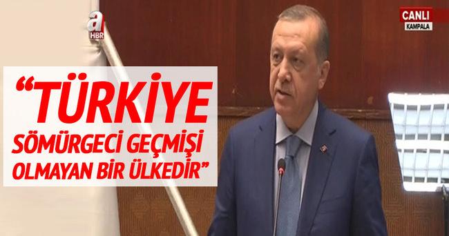 Cumhurbaşkanı Erdoğan Türkiye-Uganda İş Forumu'nda konuştu