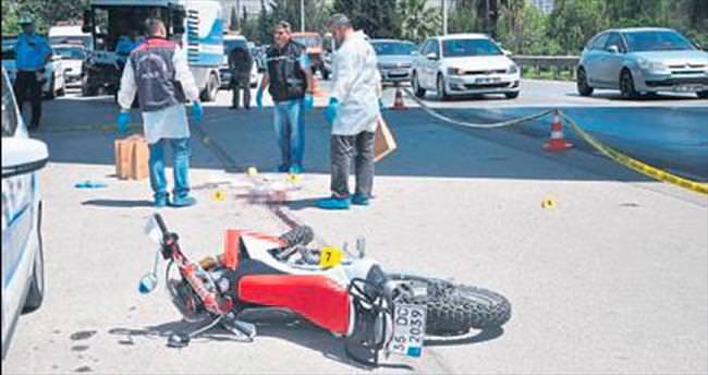 Motorun çarptığı polis hayatını kaybeti