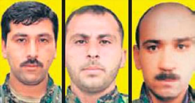 YPG'nin 3 üst düzey ismi öldürüldü