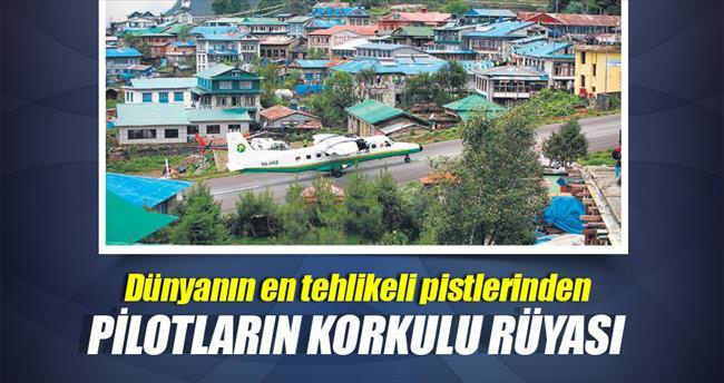Bu pist Everest'ten bile tehlikeli