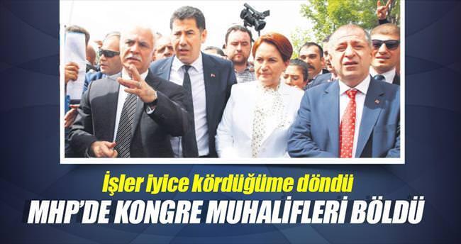 MHP'de kongre muhalifleri böldü